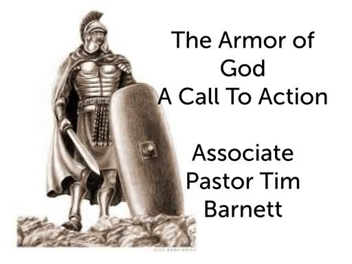 Wed 2/27 The Armor of God A Call To Action Associate