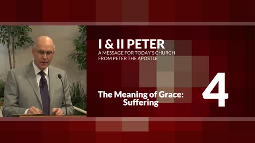 The Meaning of Grace: Suffering