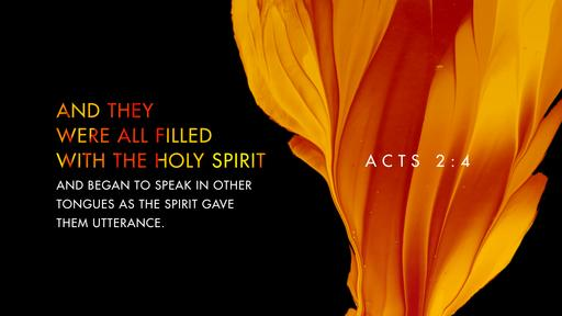Acts 2:4 verse of the day image