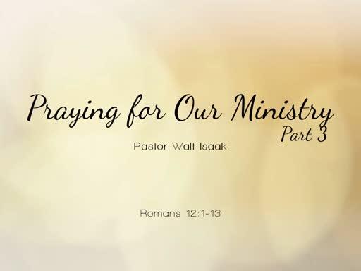Praying for Spiritual Leaders Part 3