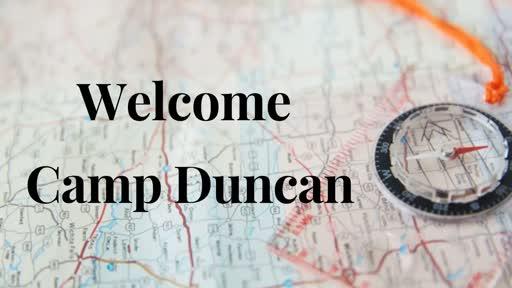 Camp Duncan Mission Presentation 2019