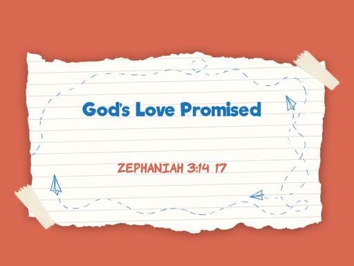 2019.03.03 God's Love Promised