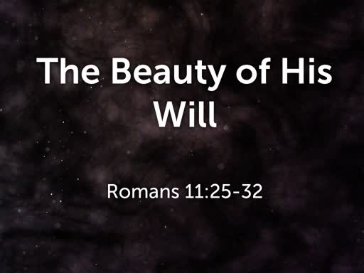 The Beauty of His Will