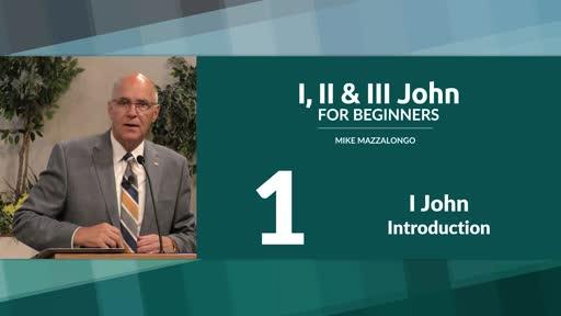 Introduction to I John
