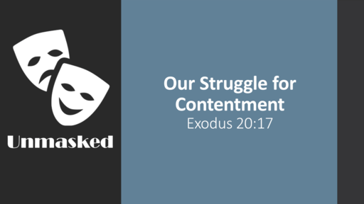 The Struggle with Contentment