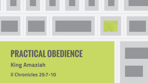 330 - Practical Obedience