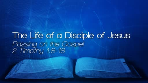 The Life of a Disciple of Jesus - March 3, 2019