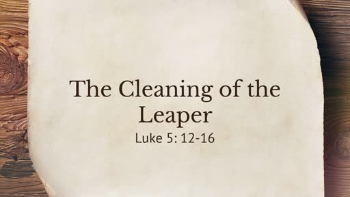 Cleansing of the Leaper