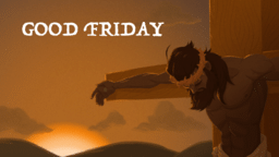 Good Friday Cross  PowerPoint image 4