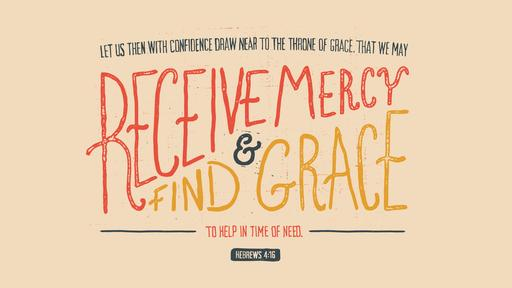 Hebrews 4:16 verse of the day image