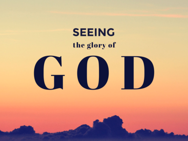 Seeing the Glory of God