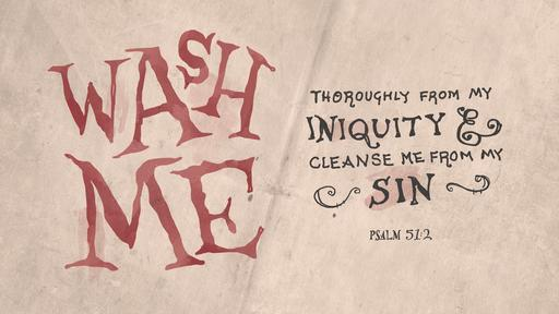 Psalm 51:2 verse of the day image