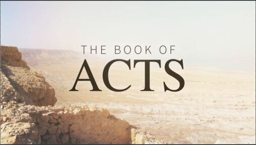 Acts 3 and 4