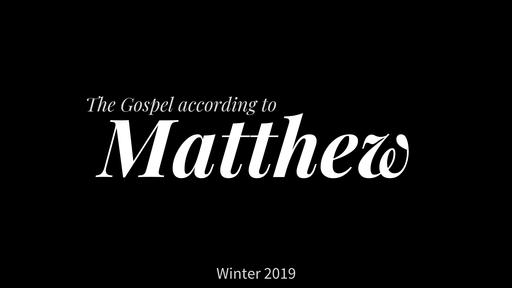 Pharisees Misunderstand – Matthew 12