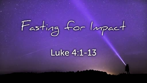 Fasting for Impact