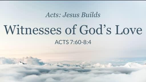 Witness of God's Love