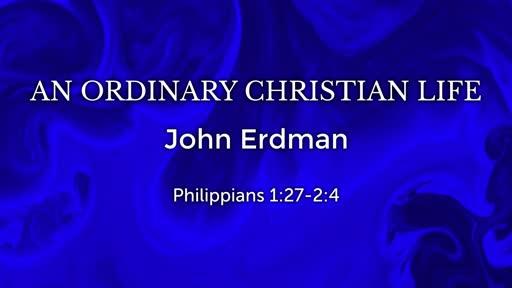 An Ordinary Christian Life
