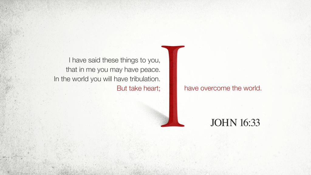 John 16:33 large preview