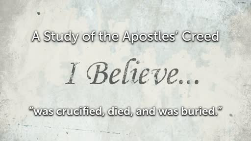 Wednesday, March 13 - PM - Jack Caron - Apostles' Creed - Suffered Under Pontius Pilate