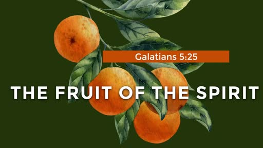 333 - Fruit  of the Spirit - Introduction