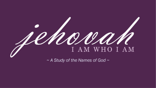 His Name Is Jehovah Nissi