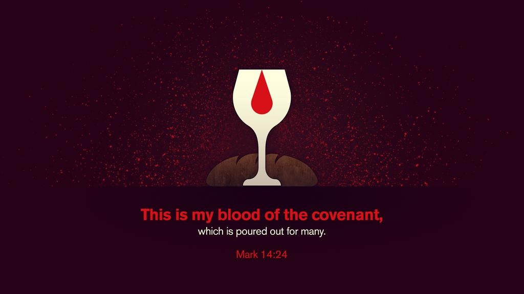 Mark 14:24 large preview