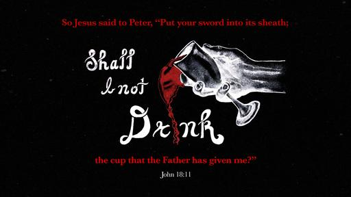 John 18:11 verse of the day image