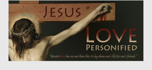 Jesus: Love Personified #MeToo