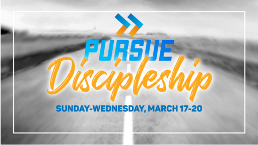 Pursue Discipleship