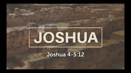 March 17, 2019 Sun School Joshua 4