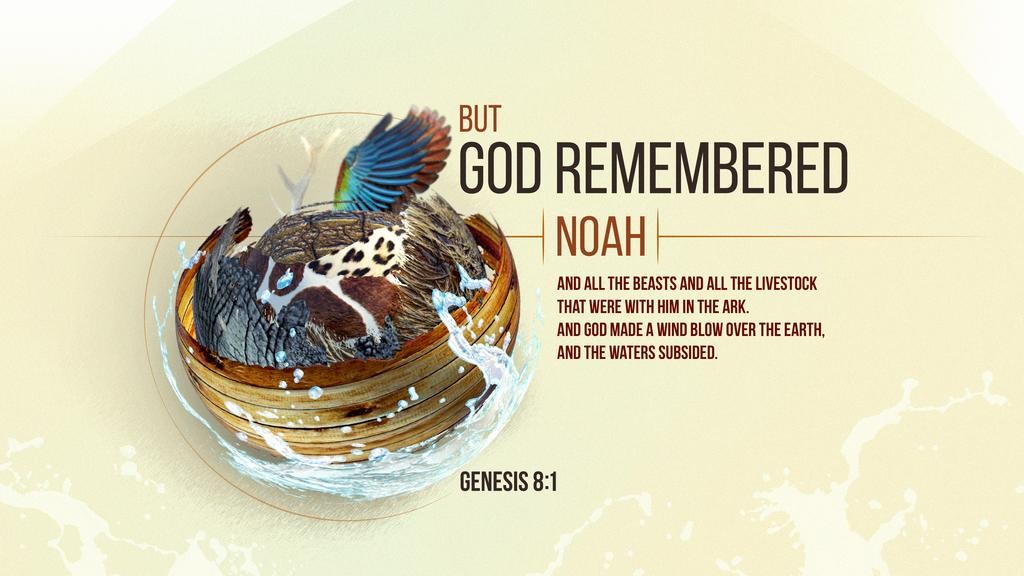 Genesis 8:1 large preview