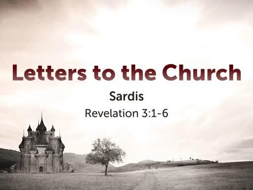 To Sardis (Or America)