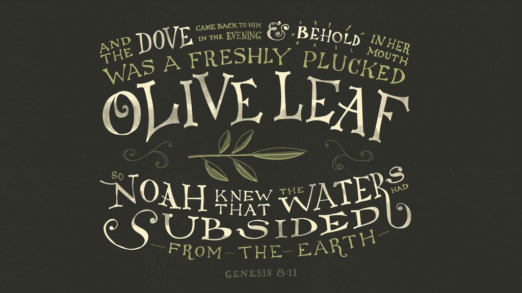 Genesis 8:11 large preview