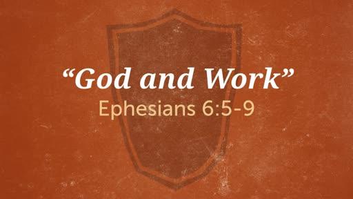 """God and Work"""