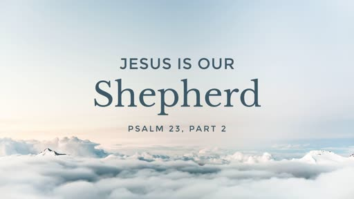 Jesus is our Shepherd - 03.17.19 AM