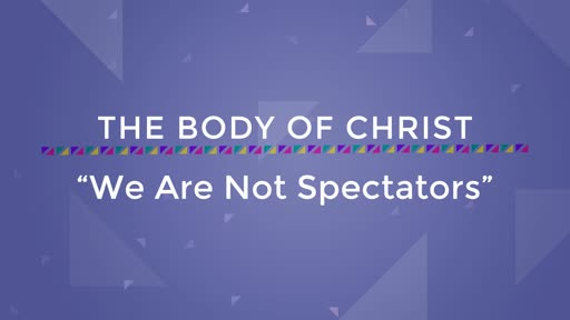 We Are Not Spectators