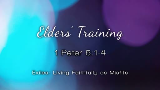 Elders' Training