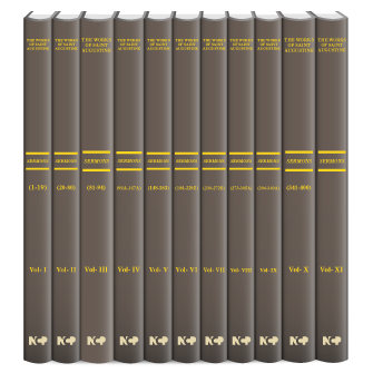 The Sermons of Saint Augustine: A Translation for the 21st Century (11 vols.)