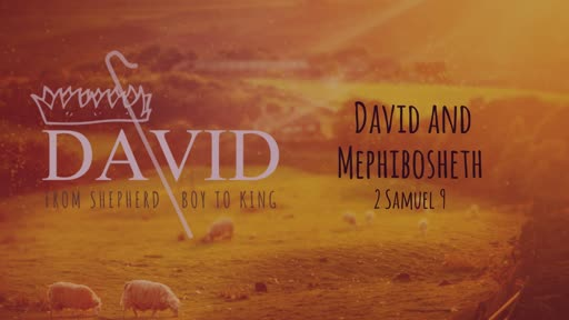 David and Mephibosheth