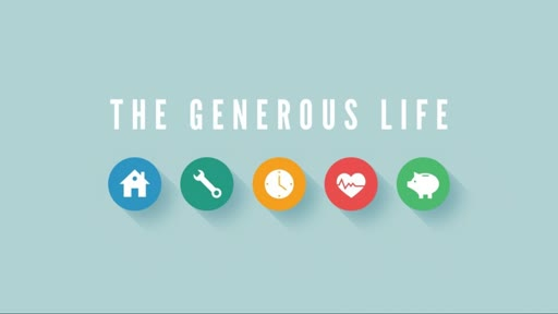 Generosity - Developing the Habit of Generosity