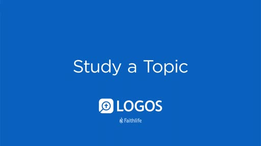 Study A Topic
