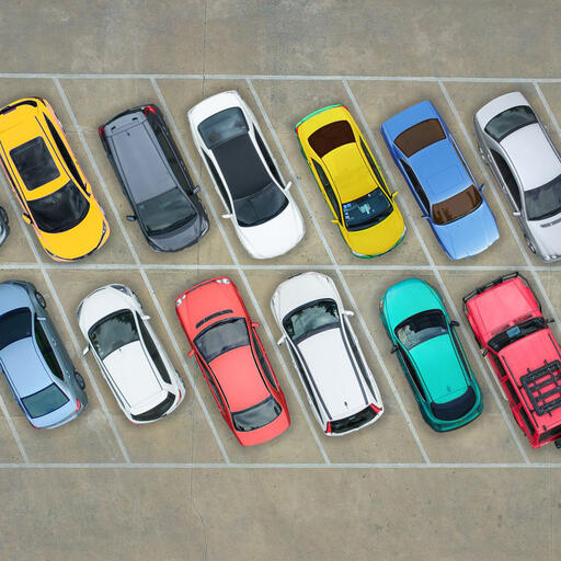Parking- Cars Parkinga Aerial.0