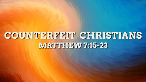 Counterfeit Christians