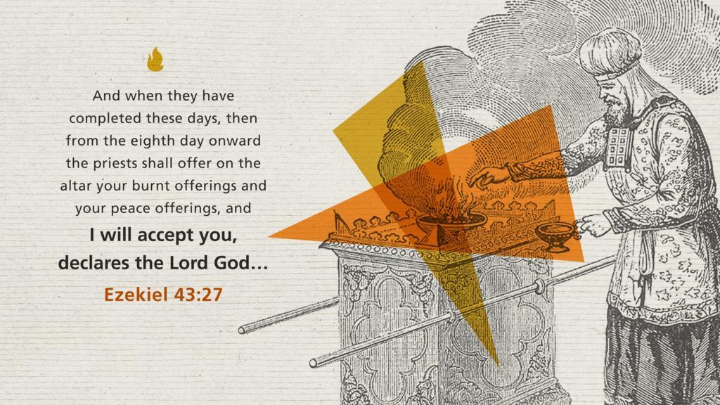 Ezekiel 43:27 large preview