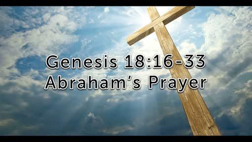 Abraham's Prayer