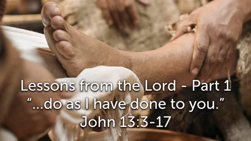 Sunday, March 24 - PM - Jack Caron - Passover with Jesus