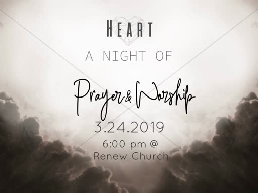 Heart Worship & Prayer Night