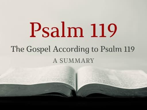 Psalm 119 (17)
