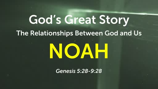 God's Great Story - Relationships
