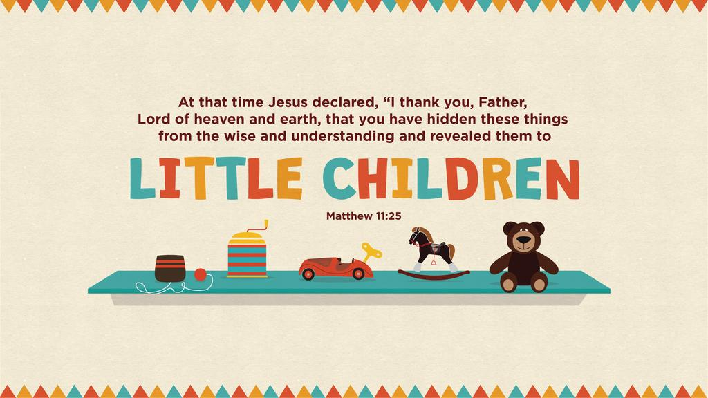 Matthew 11:25 large preview